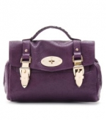 Purple and gold  Mulberry handbag at My Theresa