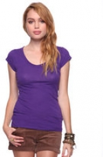 Purple Tee at Forever 21