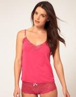 Pink cami top like Annies at Asos