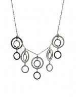 Silver circle necklace like Penny's at Asos