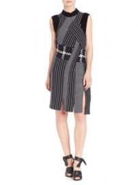 3 1 Phillip Lim - Draped Jacquard Dress at Saks Off 5th