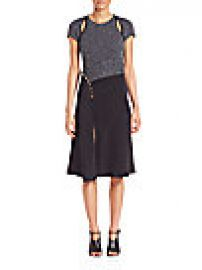 3 1 Phillip Lim - Textured Silk Blend Dress at Saks Fifth Avenue
