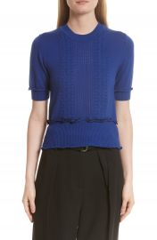 3 1 Phillip Lim Puffy Cable Merino Wool Blend Sweater at Nordstrom