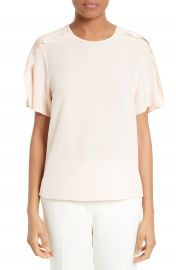 3 1 Phillip Lim Ruffle Silk Tee at Nordstrom