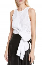 3 1 Phillip Lim Twist Front Tank Top at Nordstrom