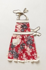 3 D Toile Apron at Anthropologie