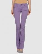 Purple pants like Janes at Yoox