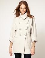 Cream coat like Lemons at Asos