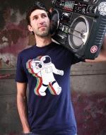 WornOnTV: Abed's skeleton astronaut tshirt on Community ...