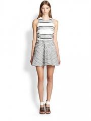 31 Phillip Lim - Chevron Paneled Dress at Saks Fifth Avenue
