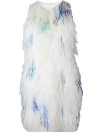 31 Phillip Lim Feather Front Shift Dress - at Farfetch