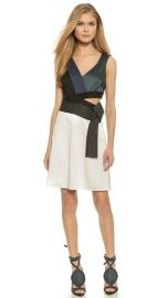 31 Phillip Lim Judo Stitch Belted Dress at Shopbop