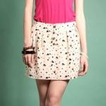 Heart print skirt like Lemons at Yes Style