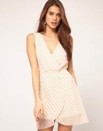 Heart print dress like Lemons at Asos