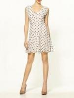 Lemon's heart print dress at Piperlime