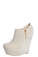 Wedge booties like Zoe Harts at Boohoo