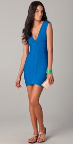 Blairs blue dress from Gossip Girl at Shopbop