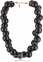 Black beaded necklace like Blairs at Endless