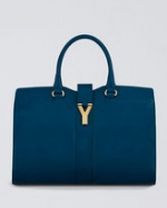 Serena's blue bag at Neiman Marcus