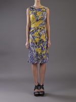 Blairs blue and yellow dress on GG at Farfetch