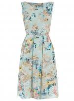 Blue floral dress like Blairs at Dorothy Perkins
