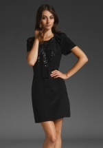 Black sequin dress like Blairs at Revolve
