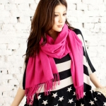 Pink scarf like Blairs at Yes Style