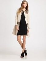 Serena's embellished coat from Gossip Girl at Saks Fifth Avenue