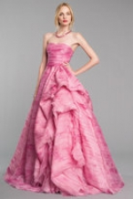 Blair's pink gown on Gossip Girl at Oscardelarenta