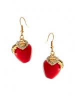 Red earrings like Serenas at Asos
