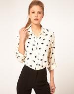 Printed blouse like Lemons at Asos