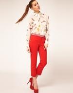 Red pants like Lemons at Asos
