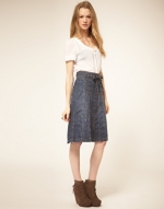 Denim skirt like Amys at Asos