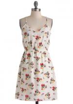 White floral dress like Bernadettes at Modcloth