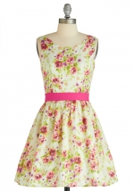 Floral dress like Bernadettes at Modcloth