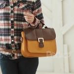 Two tone handbag like Blairs at Yes Style