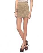 Metallic skirt like Serenas at Forever 21