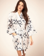 Black and white robe like Blairs at Asos