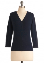 Navy cardigan like Annies at Modcloth