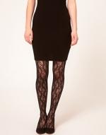 Black lace tights like Blairs at Asos