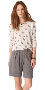 360 Sweater Jack Skull sweater at Shopbop