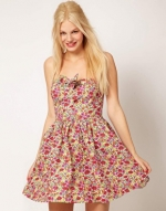 Floral dress from ASOS at Asos