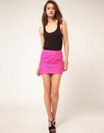 Pink lace skirt like Blairs at Asos