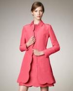 Blair's pink coat at Neiman Marcus