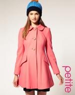 Similar pink coat at Asos