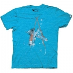 Abed's sneaker shirt at Amazon
