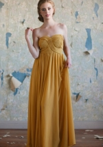 Yellow gown like Spencers at Ruche