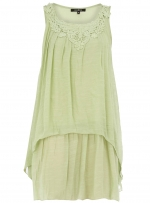 Lime top like Arias at Dorothy Perkins