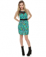 Dress with similar print at Lulus