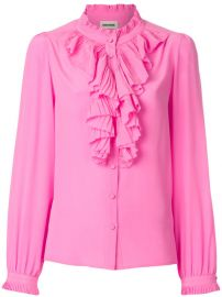 398 Zadig  amp  Voltaire Tacco Ruffle Trim Shirt - Buy Online - Fast Delivery  Price  Photo at Farfetch